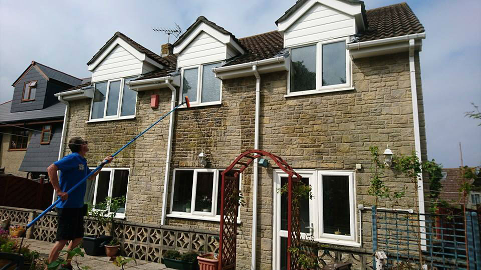 Window cleaners in Bleadon, Somerset