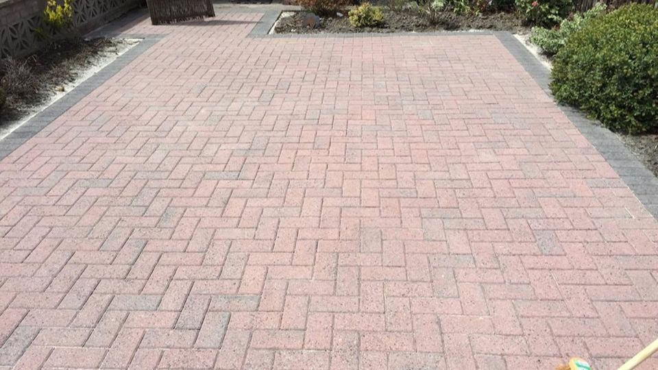 Driveway cleaners in Weston-super Mare, Somerset