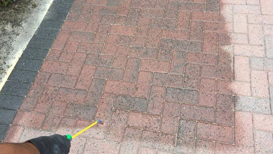 Driveway cleaning Bleadon, Somerset