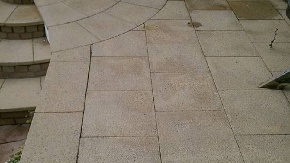 Patio cleaning Weston-super Mare, Somerset
