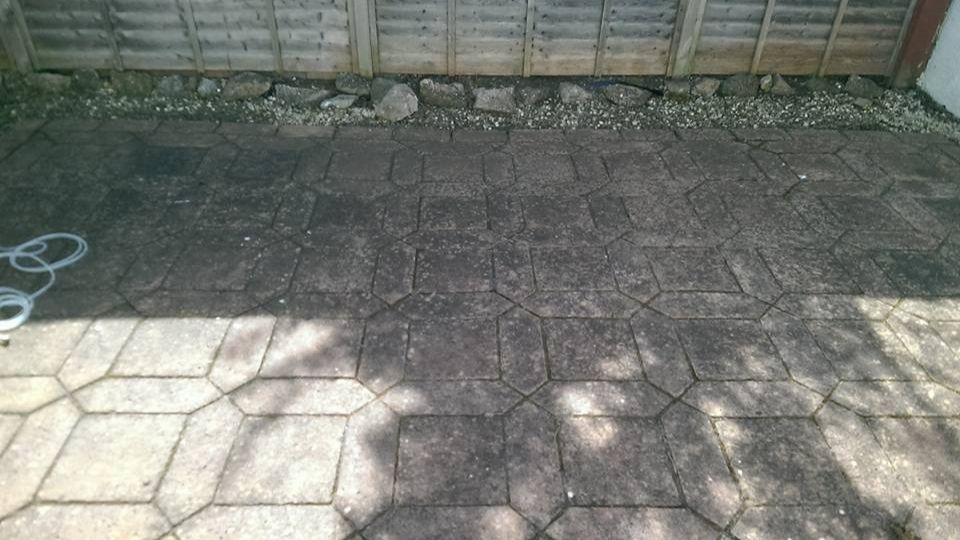 Patio cleaners in Weston-super Mare, Somerset