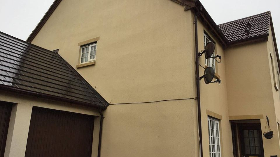 Render cleaners in Portishead, Somerset